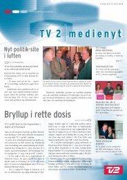 Bryllup i rette dosis - Tv2