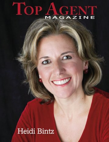 Heidi Bintz - Top Agent Magazine