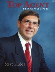Steve Huber - Top Agent Magazine