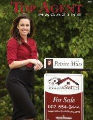 Patrice Miles - Top Agent Magazine