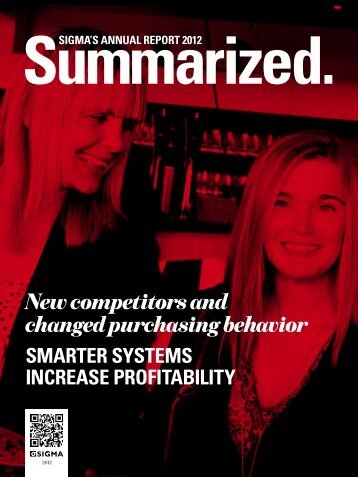 New competitors and changed purchasing behavior - Sigma