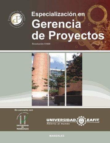 Gerencia de Proyectos - Universidad EAFIT