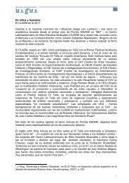 De mitos y leyendas El CLAEM en el 2011 Gracias a la ... - GP-Magma