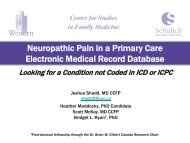 Neuropathic Pain in a Primary Care Electronic Medical Record ...