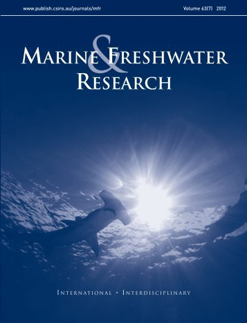 Stable isotope analysis as a tool for elasmobranch conservation ...