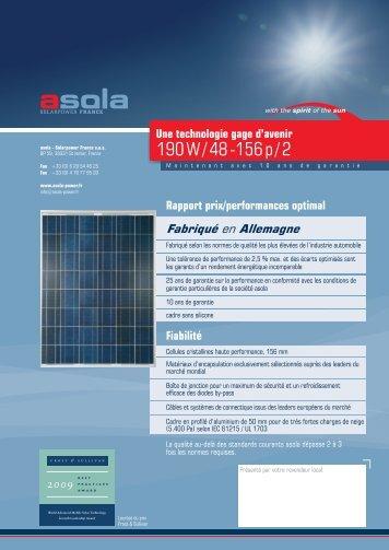 190 W / 48 -156 p / 2 - asola