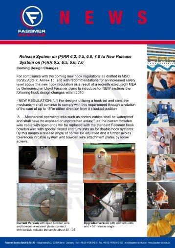 Newsletter 05/2010 - Fassmer Service