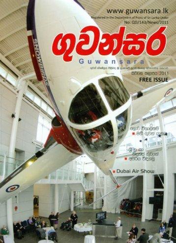 Aircrafts - Civil Aviation Authority of Sri Lanka
