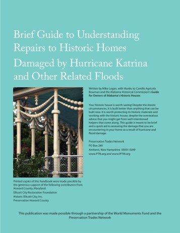 Katrina Handbook.indd - Preservation Trades Network