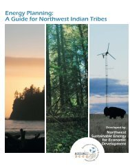 Energy Planning: A Guide for Northwest Indian Tribes - HUD