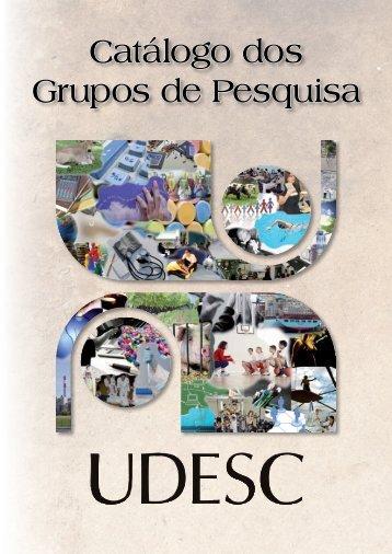 Catálogo dos Grupos de Pesquisa da UDESC