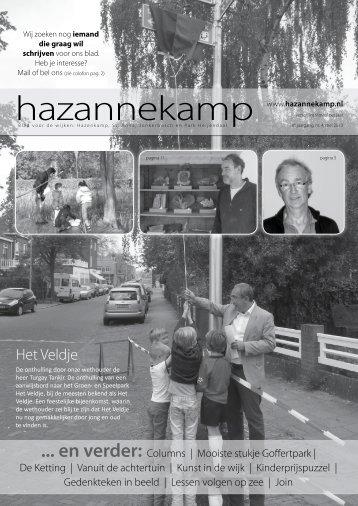 nr. 4, mei 2013 - Hazannekamp