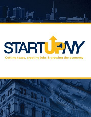 Cutting taxes, creating jobs & growing the economy - Empire State ...