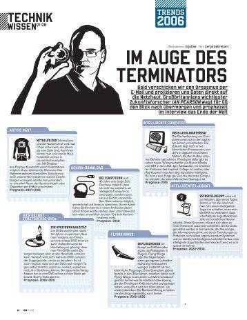 Im Auge des Terminators - Serge Debrebant, Journalist, London