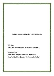 Prof. Dr. Paulo Afonso de Araújo Quermes Assessores