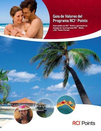 Guía de Valores del Programa RCI® Points - RCI.com