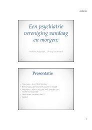 Download document - Vlaamse Vereniging voor Psychiatrie