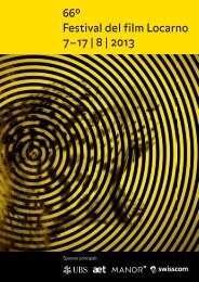 sections - Festival del film Locarno