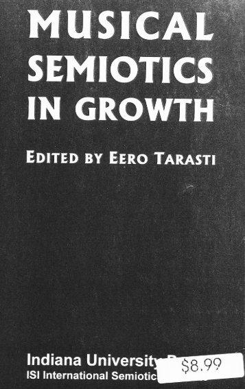Musical Semiotics in Growth - SemioticSigns.com