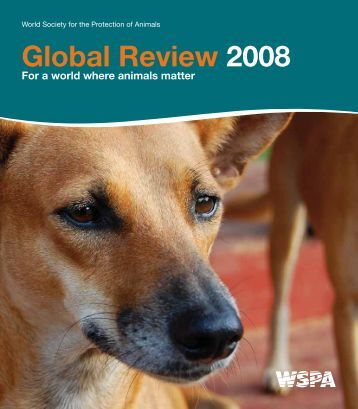 Global Review 2008 - WSPA