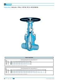 Gate valves Gate valve 700 JJ PN 160 / PD 18 DN ... - webadmin1.net
