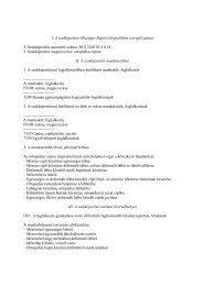 I. A szakképesítés Országos Képzési Jegyzékben szereplő ... - Eti