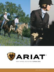 ariat® apparel and footwear spring 2009 - Just Country Australia