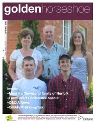GHSCIA Newsletter-Spring 2013 PDF - Ontario Soil and Crop ...