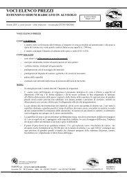 voci elenco prezzi estensivo sedum radicato in alveolo - Harpo S.p.A.