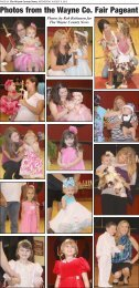 Photos from the Wayne Co. Fair Pageant - Wayne County News