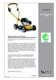 Stiga Multiclip Pro 53  S Svan MULTICLIP - IMA Aschaffenburg