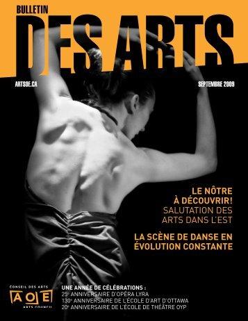 Téléchargez ce numéro comme PDF - Arts Ottawa East / Arts Ottawa ...