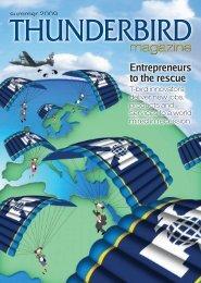 Summer - Thunderbird Magazine - Thunderbird School of Global ...