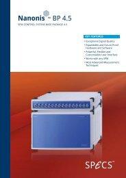 BP 4.5 - SPECS Surface Nano Analysis GmbH