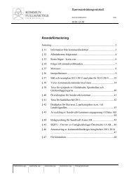 Sammanträdesprotokoll Ärendeförteckning - Sundsvall