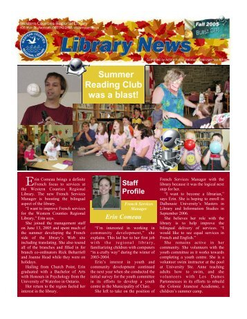 Summer Reading Club was a blast! - Western Counties Regional ...