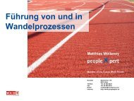 ZFU Strategisches HRM - Bodensee-Forum Personalmanagement