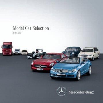 Model Car Selection 2010/2011