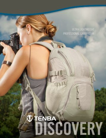 download the Discovery Collection Catalog - Tenba