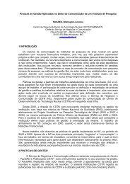 Práticas de Gestão Aplicadas no Setor de Comunicação de ... - CDTN