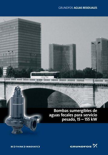 Bombas sumergibles de aguas fecales para servicio ... - Grundfos