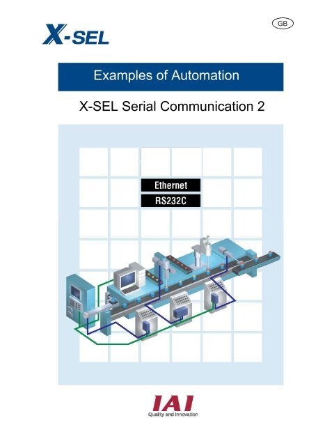 Examples of Automation X-SEL Serial Communication 2 - IGAS