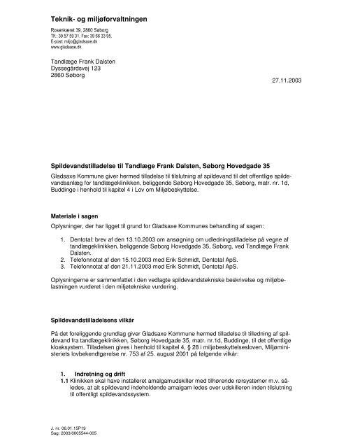 Teknik- og miljøforvaltningen - Spildevandsinfo.dk