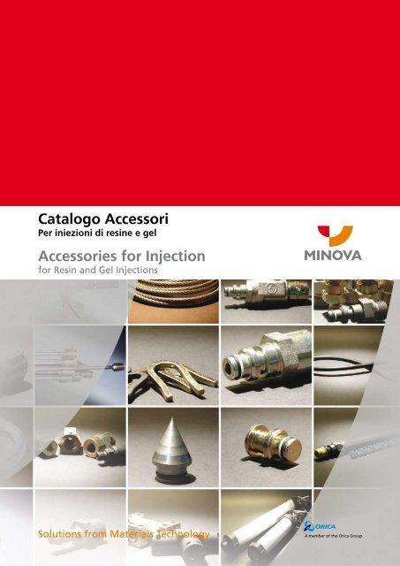 Catalogo Accessori Accessories for Injection - Minova CarboTech ...