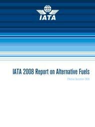 IATA 2008 Report on Alternative Fuels