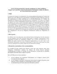 Avis 51-319, Rapport sur le deuxième examen ... - Deloitte Canada