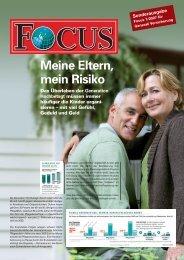 Focus - Thema Pflege_070701