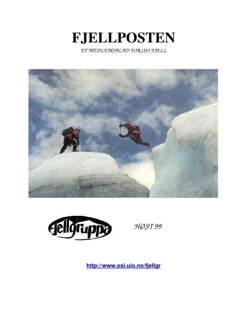 Høst 1999 - OSI Fjell