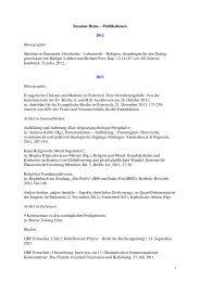 Susanne Heine – Publikationen - Institut für Praktische Theologie ...