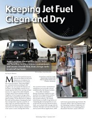 Keeping Jet Fuel Clean and Dry - Southwest Research Institute
